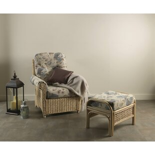 Kiara Armchair With Footstool By Beachcrest Home