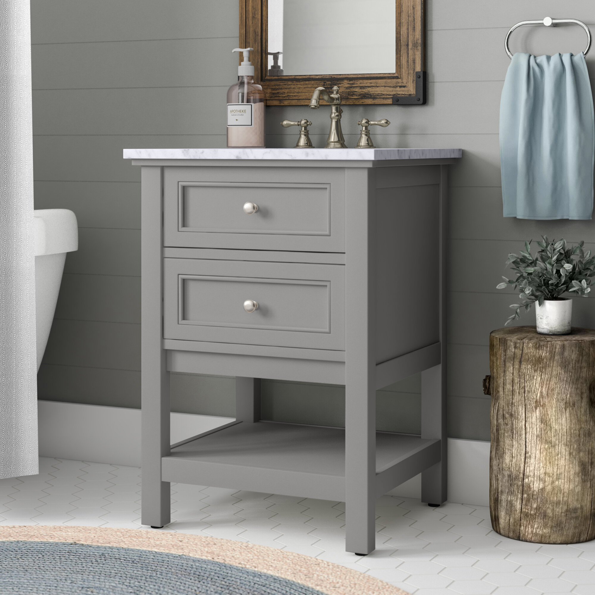 Cody 24 Single Bathroom Vanity Set Reviews Birch Lane