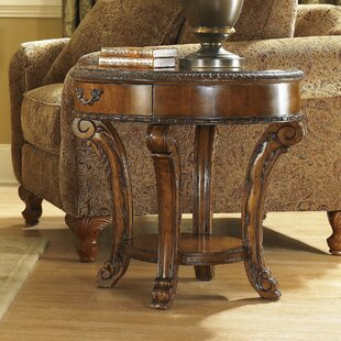 Best Reviews Brussels End Table With Storage By Astoria Grand