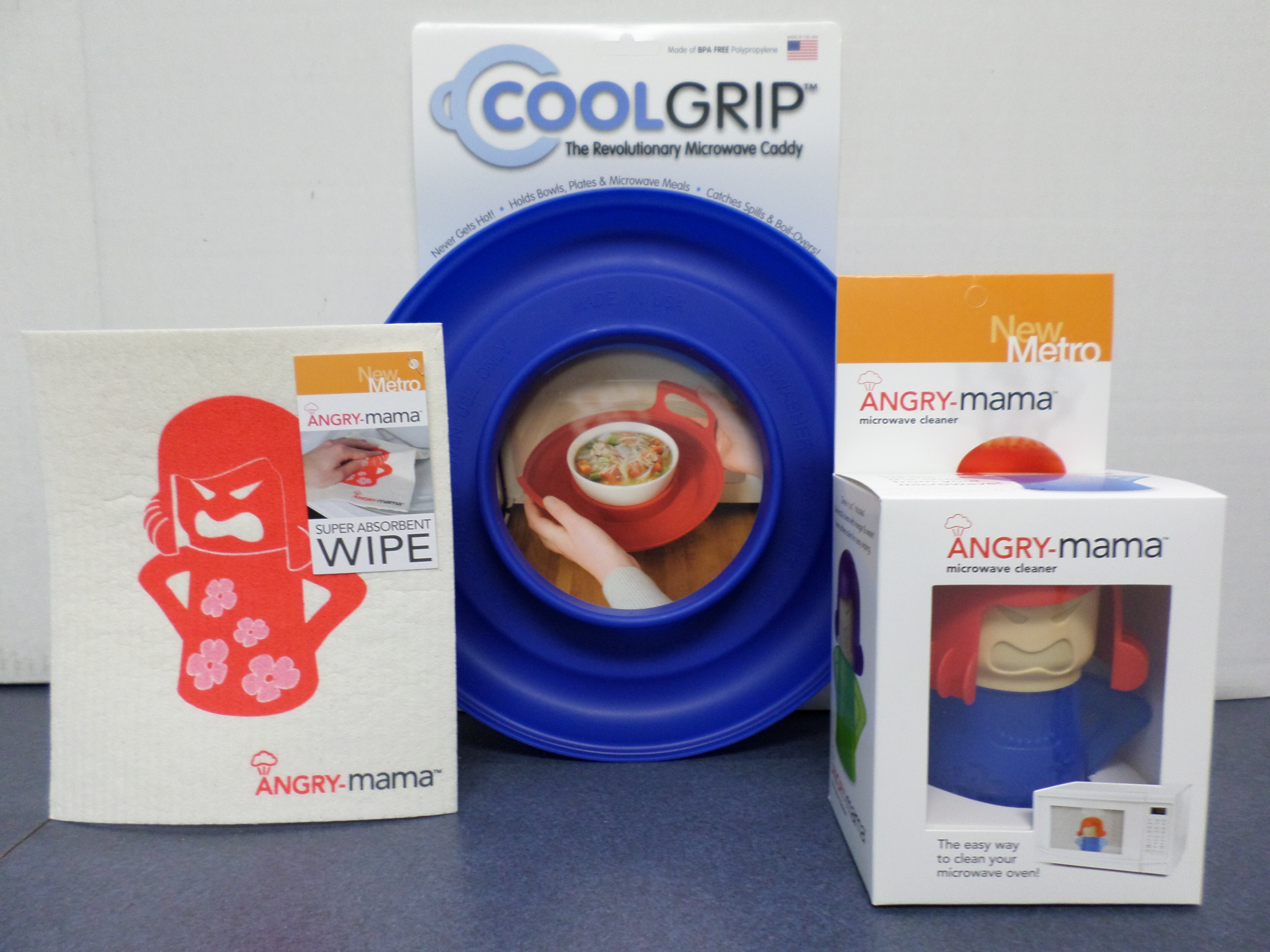 Newmetro Design Angry Mama 3 Piece Microwave Set Reviews Wayfair Ca