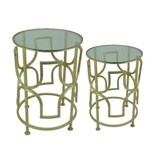 Achille 2 Piece End Table Set