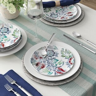 Nataly Marietta Melamine Salad Plate (Set Of 6) by Alcott Hill Best Design