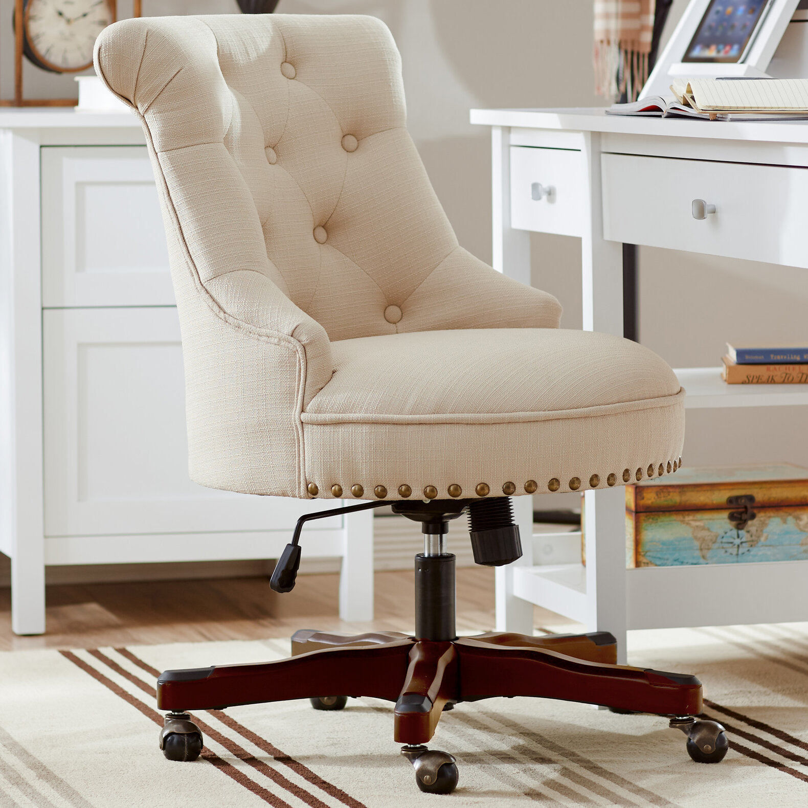 Image of: Tufted Comfy Desk Chairs You Ll Love In 2020 Wayfair
