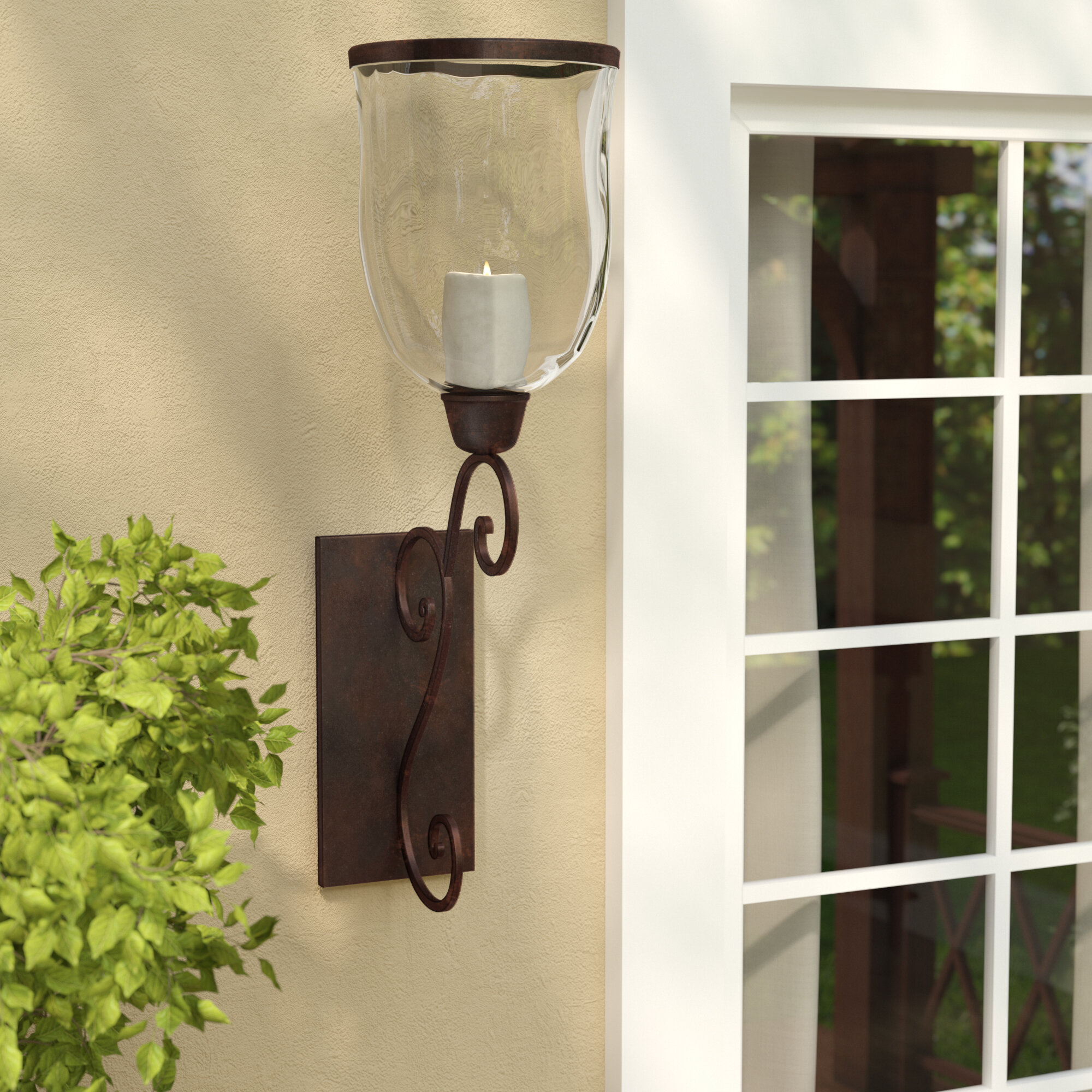 Metal Sconce Candle Holders Free Shipping Over 35 Wayfair