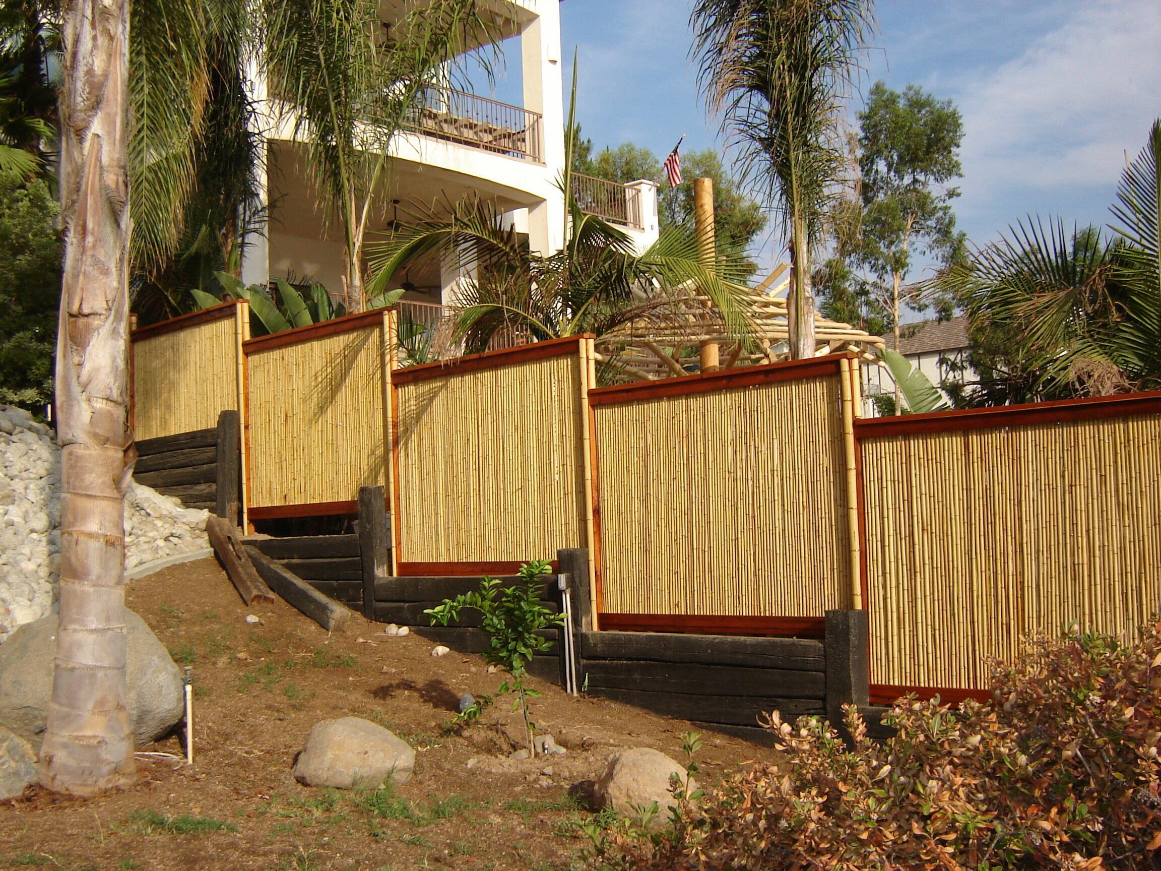 Backyard X-Scapes Rolled Bamboo Fencing & Reviews | Wayfair