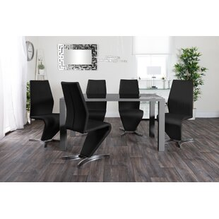 Thinh Dining Set With 6 Chairs By Wade Logan