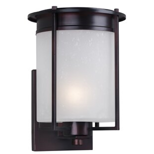 Price comparison Abril 1-Light Outdoor Sconce By Latitude Run