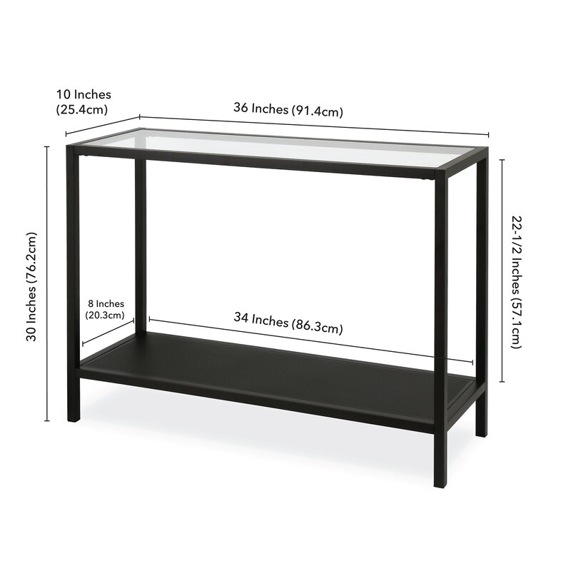 "Zipcode Design™ Longmeadow 36"" Console Table & Reviews 