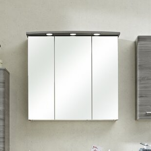 Review Archer Bacoli II 75 X 72cm Mirorred Wall Mounted Cabinet