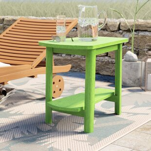 Alanna Plastic Side Table by Beachcrest Home Read Reviews