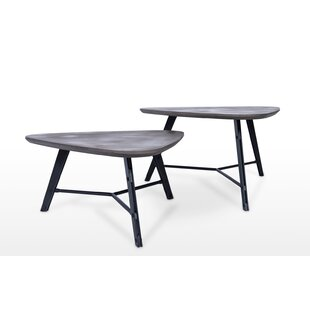 Meaghan 2 Piece Coffee Table Set