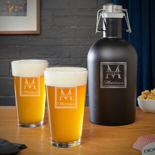 Bowker Personalized 16 oz. Growler