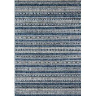 Compare & Buy Tuscany Blue Indoor/Outdoor Area Rug By Novogratz