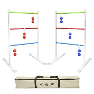 GoSports 9 Piece Premium Metal Ladder Toss Game Set