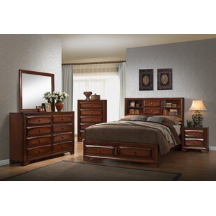 Granite Queen Platform 5 Piece Bedroom Set