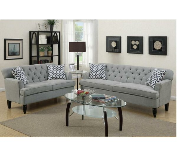 set living room furniture a amp j homes studio 2 living room set amp reviews 16460