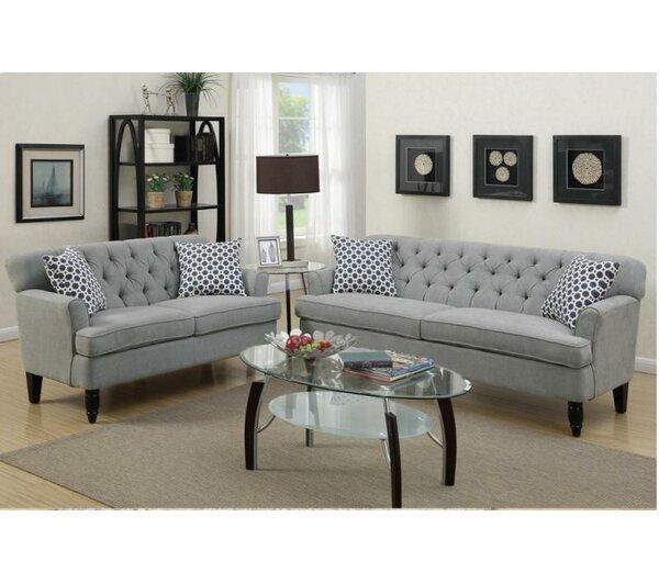 A Amp J Homes Studio Angel 2 Piece Living Room Set Amp Reviews