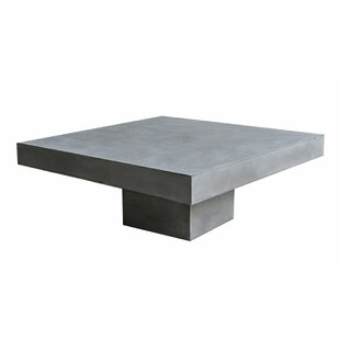 Blase Concrete Coffee Table By Sol 72 Outdoor