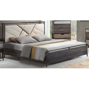 Andromeda Upholstered Panel Bed
