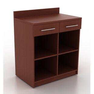 HPL Contract Modern Breakoom 2-Drawer Vertical Filing Cabinet