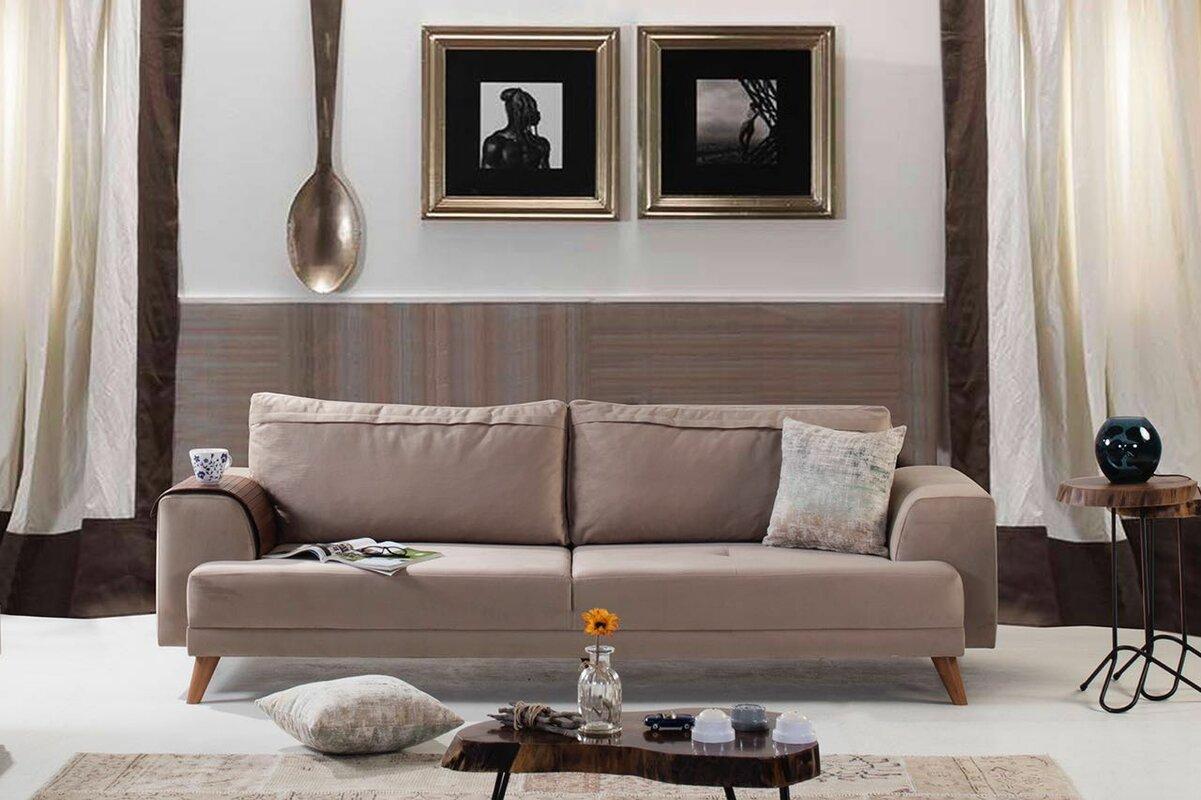 Perla Furniture Zara Sofa & Reviews | Wayfair