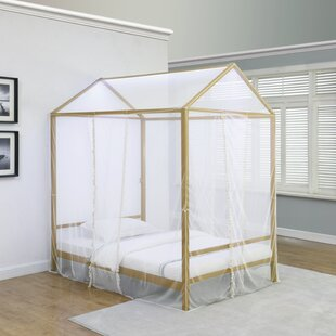 Ashland Upholstered Low Profile Canopy Bed