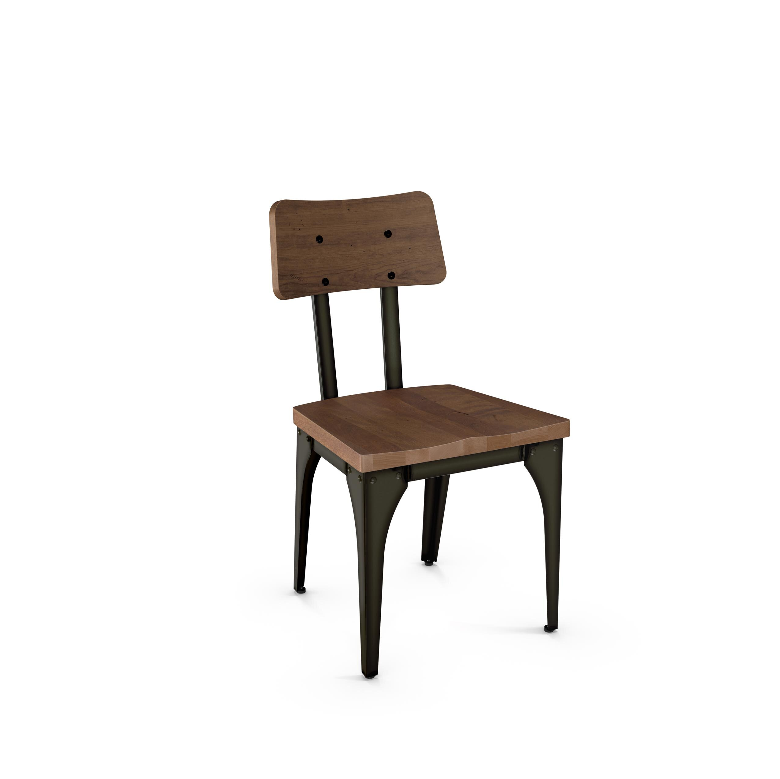 Ellenton Coffee Table With Storage: Gracie Oaks Ellenton Solid Wood Dining Chair