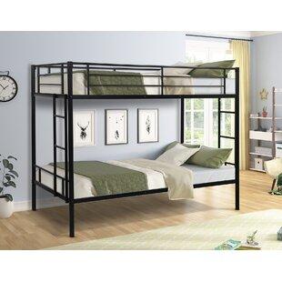 Casimiro Metal Twin over Twin Bunk Bed