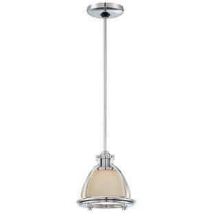 1-Light Bell Pendant by Mi..