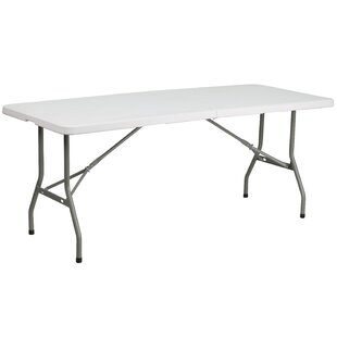 Bargain Rectangular Folding Table By Flash Furniture