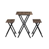 Briona 3 Piece Counter Height Dining Set