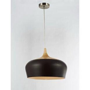 Legion Furniture 1-Light Inverted Bowl Pendant