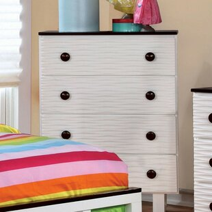 Knauer Wave Textured 4 Drawer Chest by Zoomie Kids Spacial Price