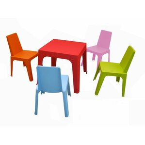 Kelyan Kids 5 Piece Table And Chair Set