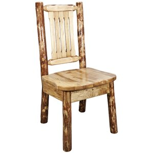 Tustin Woodworks? Tungsten Kitchen Side Chair by Loon Peak