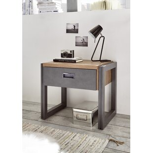 Aoife 1 Drawer Bedside Table By Borough Wharf