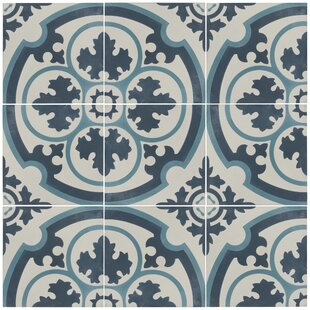 Ciment 7 88 X Cement Field Tile In Blue White