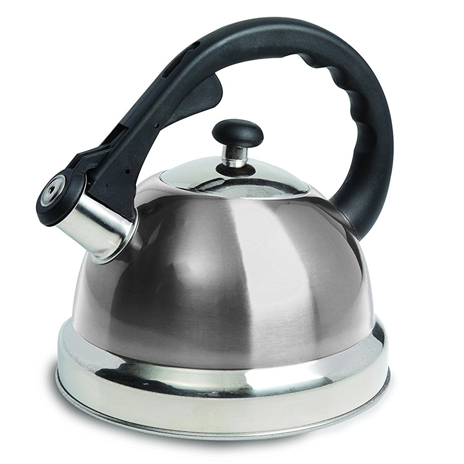 Gibson Mr Coffee 1 7 Qt Claredale Stainless Steel Whistling Stovetop Kettle Wayfair