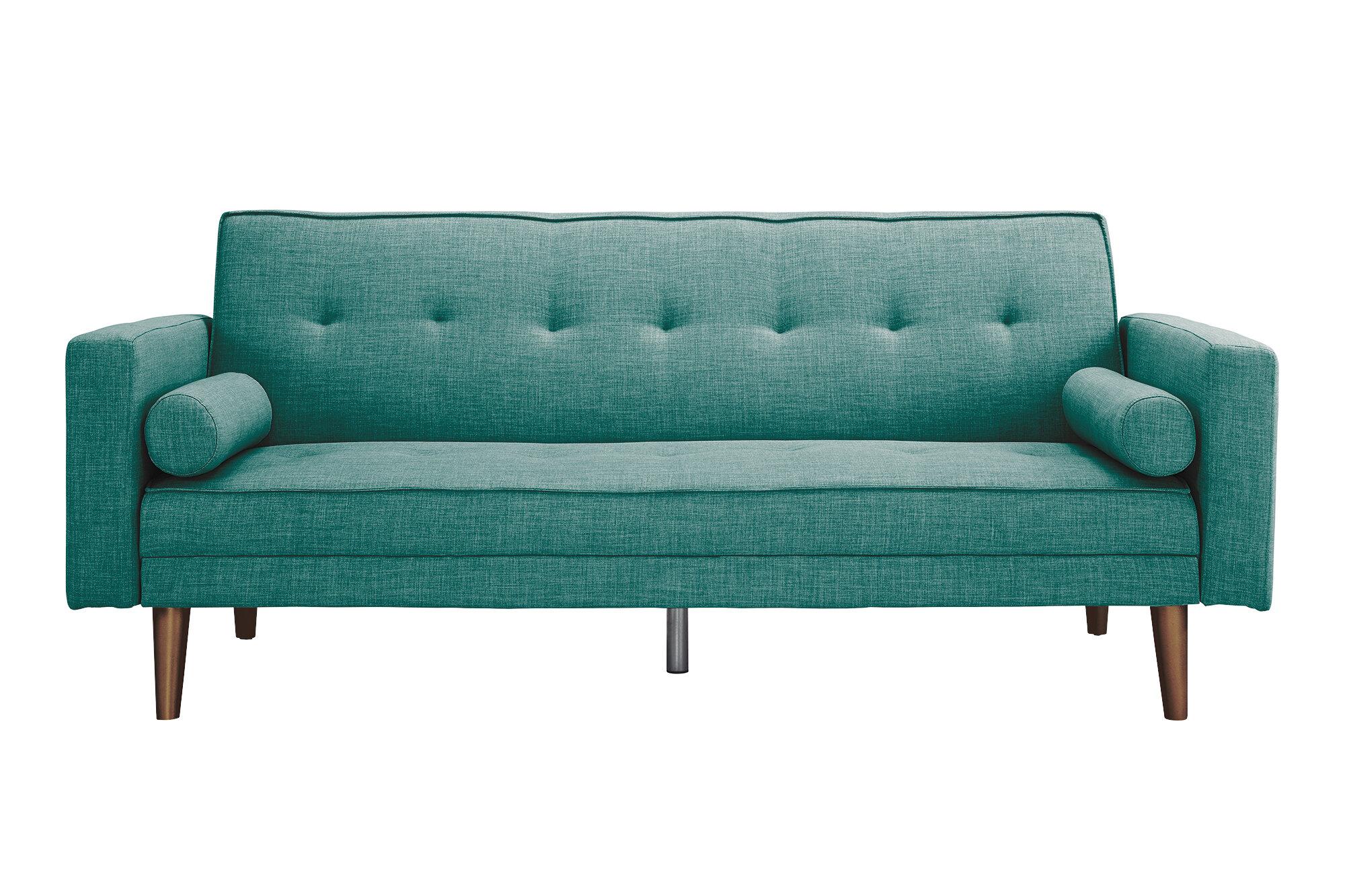 Novogratz Vintage Mix Convertible Sofa