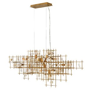 Ringsted 9-Light Geometric Chandelier