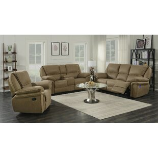 Red Barrel Studio Ellinger Reclining Conf..
