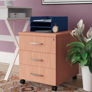 Mobile Pedestal 3 Drawer Filing Cabinet By Brayden Studio