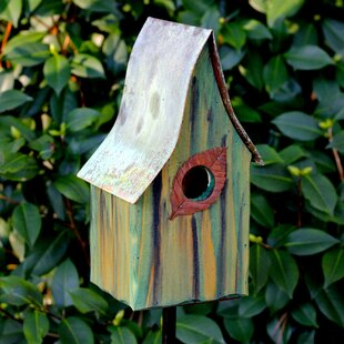 Heartwood Shady Shed 12 in x 6 in x 6 in Birdhouse