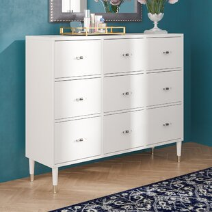 Comparison Tifton Modern 9 Drawer Chest by Willa Arlo Interiors Reviews (2019) & Buyer's Guide