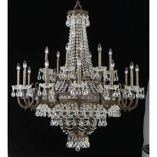 Classic Lighting Contessa 27-Light Empire Chandelier