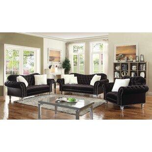 Willa Arlo Interiors Rhinecliff Configurable Living Room Set