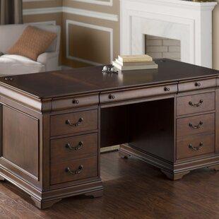 Grunewald Solid Wood Executive Desk