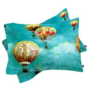 Land Of Lulu Herd of Balloons 2 Pillowcase