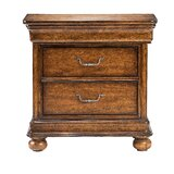 Louis Philippe 2 Drawer Bachelor's Chest by Stanley Furniture
