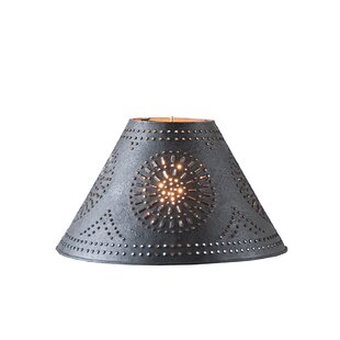Online Reviews 12.5 Metal Empire Lamp Shade By Gracie Oaks